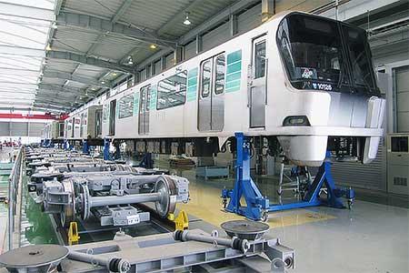 横浜市営地下鉄 川和車両基地の見学ツアー開催