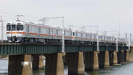 313系1300番台が日本車輌から出場