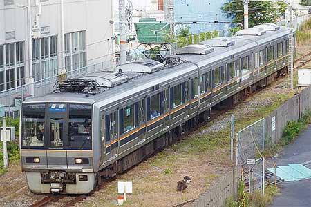 和田岬線に207系が入線