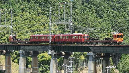 養老鉄道600系602編成が五位堂検修車庫へ
