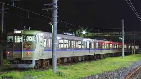 113系が和歌山線に入線