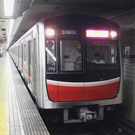 大阪市交通局30000系が御堂筋線で試運転