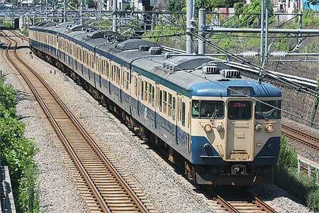 113系8両が長野総合車両センターへ