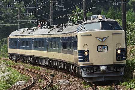 秋田へ転属した583系が初運用