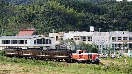 「美祢線復旧記念号」運転
