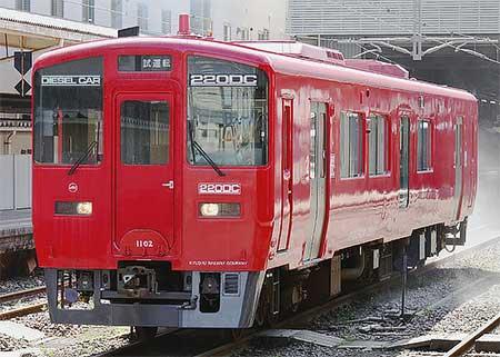 キハ220−1102が熊本へ
