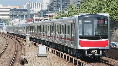 大阪市交通局30000系,北大阪急行線内で試運転