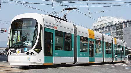 広島電鉄5108号が「テッピー号」に