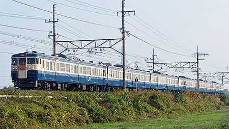 """武蔵野線で115系""""ホリデー快速鎌倉""""運転"""