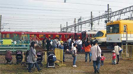 『きんてつ鉄道まつり2011』開催