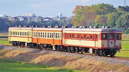 ひたちなか海浜鉄道で旧形車3連運転
