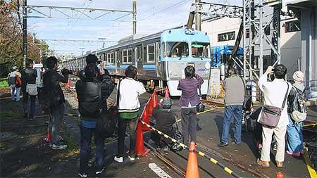 『ありがとう3000系フェスタ』富士見ヶ丘車両基地でイベント