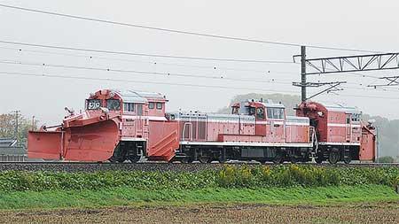DE15 1004が北陸本線で試運転