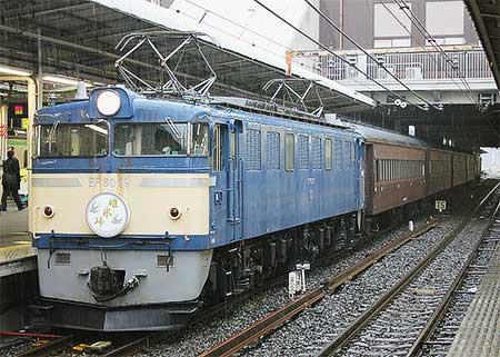 大宮—横川間で旧客使用の団体臨時列車運転