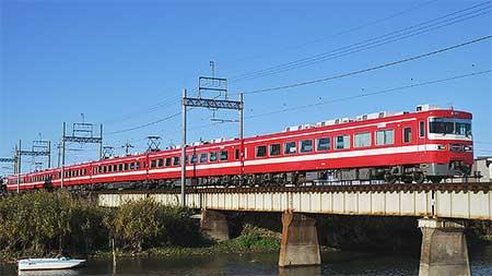 「野田線開通100周年記念号」運転
