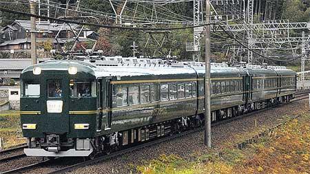 近鉄15400系「クラブツーリズム列車」が試運転