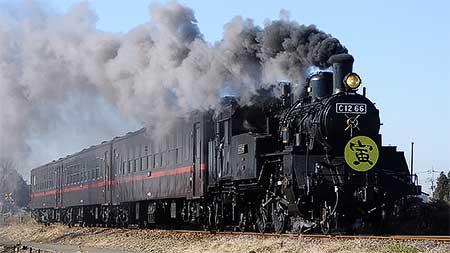 真岡鐵道で「寅さん列車」運転