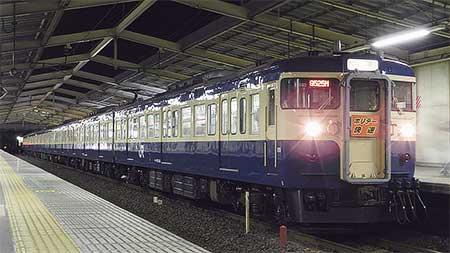 """115系""""ホリデー快速鎌倉"""",2012年の運転開始"""