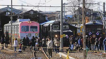 上毛電気鉄道『新春イベント2012』開催