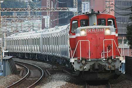 南海電鉄8000系が甲種輸送される