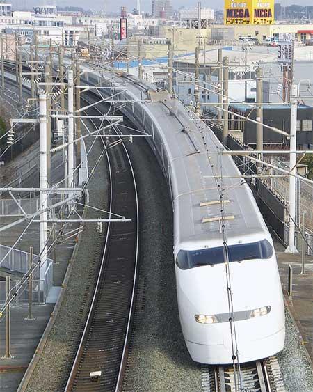 JR東海300系J編成が定期運用から離脱