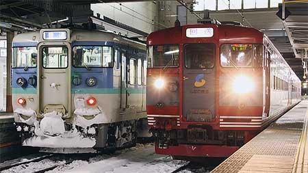 しなの鉄道169系S54編成が長野総合車両センターへ