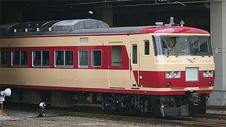 185系OM08編成が塗装変更