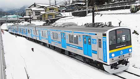 富士急行6000系が営業運転を開始
