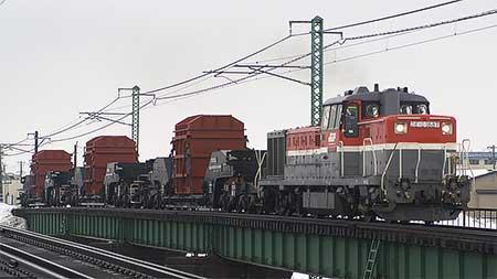 シキ1000形による特大貨物輸送