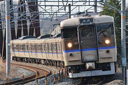 """快速""""篠山ABCマラソン号"""",113系で運転"""