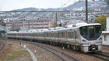 225系6000番台が福知山線で営業運転を開始