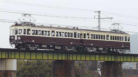 琴電琴平線でレトロ電車運転