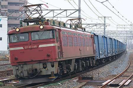 ワム380000形25両が南福井へ回送される