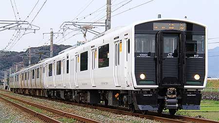 817系2000番台が営業運転を開始