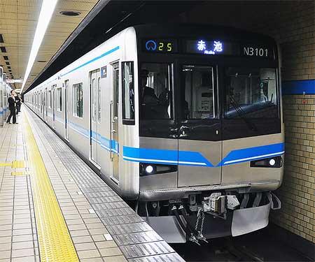 名古屋市交N3000形が営業運転を開始
