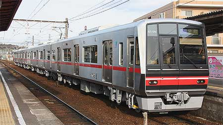 名鉄4000系4008編成が営業運転を開始