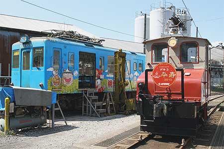 銚子電鉄で『デキ3 誕生90周年・復刻:昭和の赤い電車記念イベント』開催