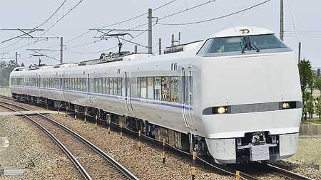 683系4000番台T48編成が6連で松任本所から出場