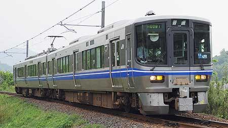 小浜線一部運用を521系が代走