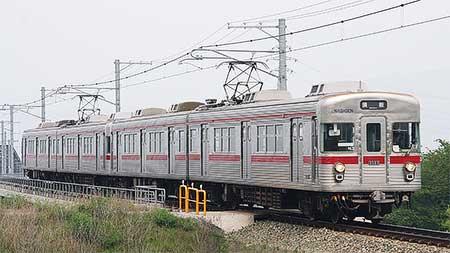 長野電鉄で3500系4両編成が定期運用に