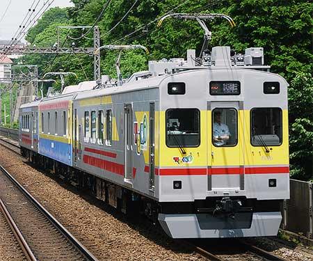 東急サヤ7590が長津田車両工場から出場