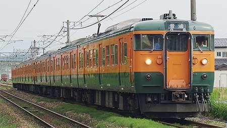 115系T1036編成が新潟地区で運用入り