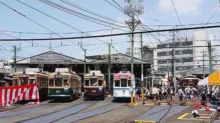 広島電鉄『第17回路面電車まつり』開催