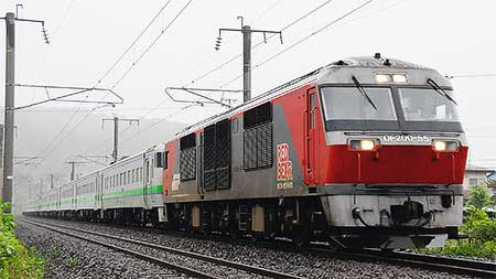 キハ48・キハ141系が東室蘭へ