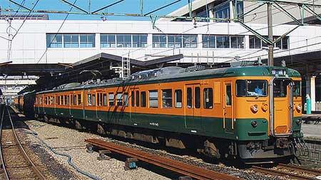 115系T1037編成が新潟地区で運用に