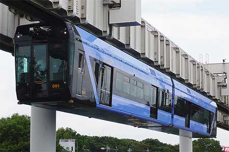 千葉都市モノレール0形「URBAN FLYER」が営業運転を開始