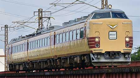 485系Do32編成による団体臨時列車運転