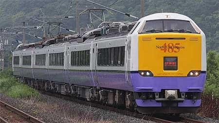 485系3000番台が,青い森鉄道で試運転