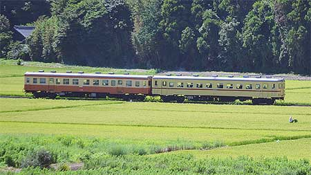 ひたちなか海浜鉄道で「湊線暑いレトロ列車」運転