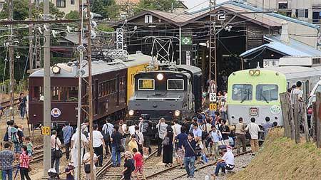 上毛電気鉄道で『感謝フェアイベント2012』